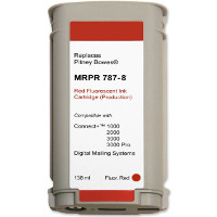 Pitney Bowes® 787-8 Red Meter Ink (Large) SendPro™ P/Connect+®